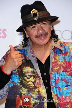Carlos Santana at Macy's and Vanidades magazine launch celebrating Hispanic Heritage Month. New York City, USA - 11.10.12