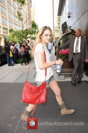 'Suburgatory' actress Carly Chaikin  arrives at her Manhattan hotel New York City, USA - 16.05.12