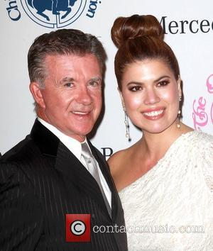 Alan Thicke, Tanya Callau   26th Anniversary Carousel Of Hope Ball - Presented By Mercedes-Benz - Arrivals Los Angeles,...