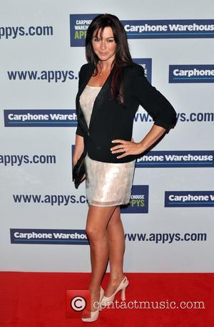Suzi Perry The Carphone Warehouse Appy Awards held at the Battersea Power Station - Arrivals. London, England - 25.04.12