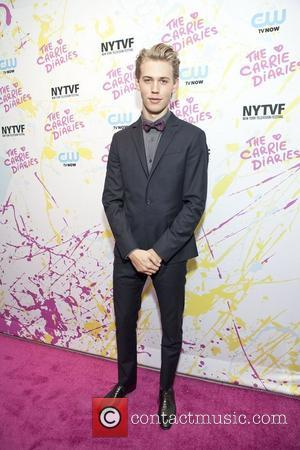 Austin Butler The Carrie Diaries Premier held at the SVA Theatre Chelsea New York City, USA - 22.10.12