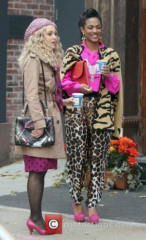 Freema Agyeman and Anne Sophia Robb