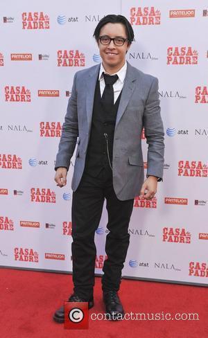 Efren Ramirez  The premiere of 'Casa de mi Padre' held at Grauman's Chinese Theatre - Arrivals Los Angeles, California...