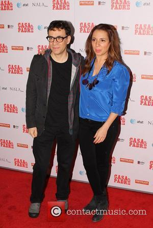 Fred Armisen and Maya Rudolph The premiere of 'Casa de mi Padre' held at Grauman's Chinese Theatre - Arrivals Los...