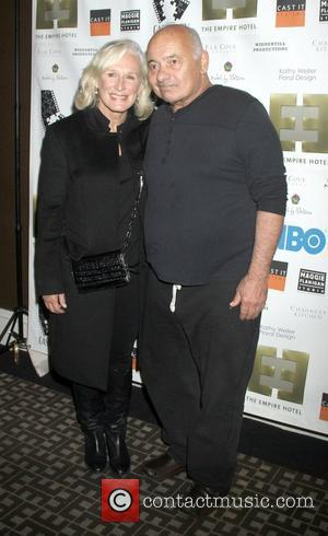 Glenn Close and Burt Young  attend the New York Film Festival Premiere After Party for 'Casting By' at the...