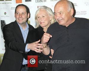 Tom Donahue, Glenn Close and Burt Young