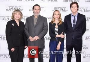 Debra Monk, Ciaran Hinds, Scarlett Johansson and Benjamin Walker