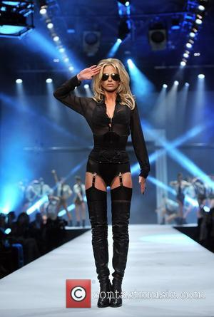 Sarah Harding Lingerie London held at Old Billingsgate - Catwalk. London, England - 24.10.12