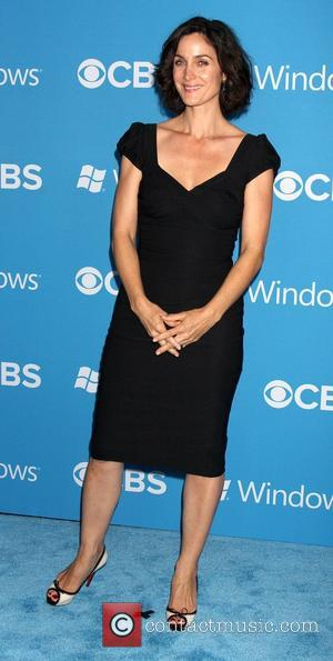 Carrie-Anne Moss,  at the CBS 2012 Fall Premiere Party at Greystone Manor - Arrivals Los Angeles, California - 18.09.12