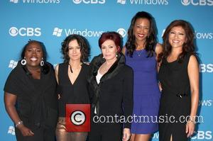 The Talk Cast, Sheryl Underwood, Sara Gilbert, Sharon Osbourne, Aisha Tyler and Julie Chen