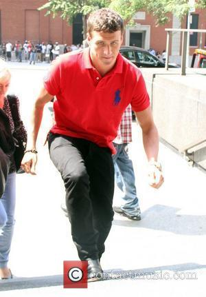 Ryan Lochte arrives at the CBS News studios New York City, USA - 23.08.12