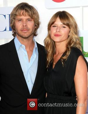 Eric Christian Olsen and Sarah Wright CBS Showtime's CW Summer 2012 Press Tour at the Beverly Hilton Hotel - Arrivals...