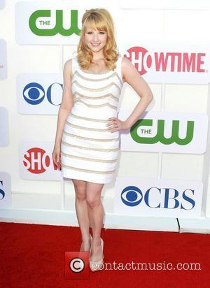 Melissa Rauch and Beverly Hilton Hotel