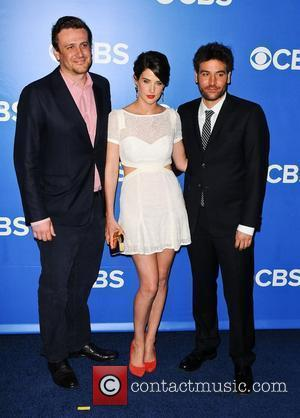 Jason Segel, Cobie Smulders, Josh Radnor 2012 CBS Upfronts at The Tent at Lincoln Center New York City, USA -...