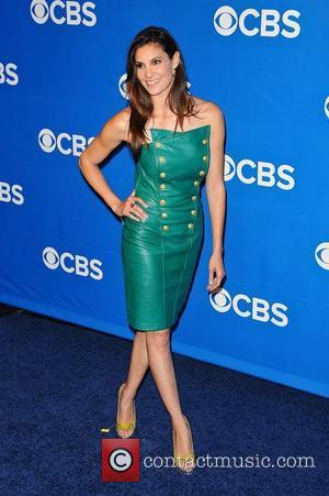 Daniela Ruah 2012 CBS Upfronts at The Tent at Lincoln Center New York City, USA - 16.05.12