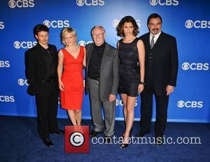 Will Estes, Bridget Moynahan, Len Cariou and Tom Selleck