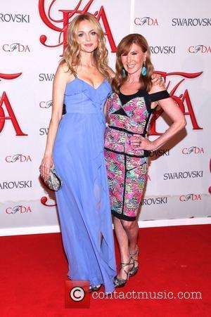 Heather Graham, Nicole Miller  2012 CFDA Fashion Awards held at Alice Tully Hall New York City, USA - 04.06.12