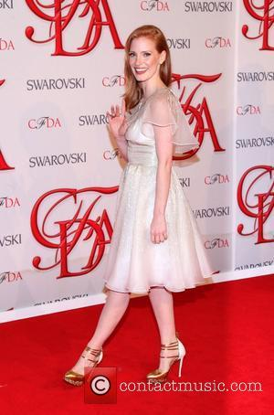 Jessica Chastain and Cfda Fashion Awards