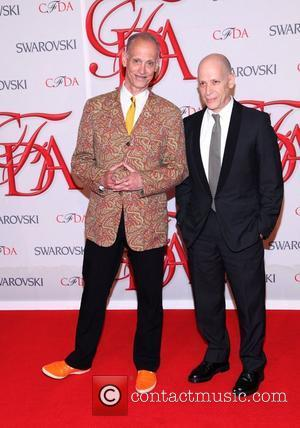 John Waters and guest  2012 CFDA Fashion Awards held at Alice Tully Hall New York City, USA - 04.06.12