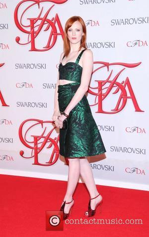 Karen Elson  2012 CFDA Fashion Awards held at Alice Tully Hall New York City, USA - 04.06.12