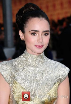 Lilly Collins 2012 CFDA Fashion Awards held at Alice Tully Hall - Outside Arrivals New York City, USA - 04.06.12