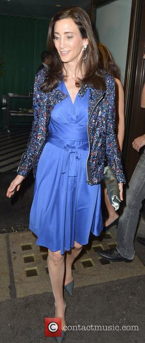 Nancy Shevell  leaving Cecconi's restaurant  London, England - 23.05.12