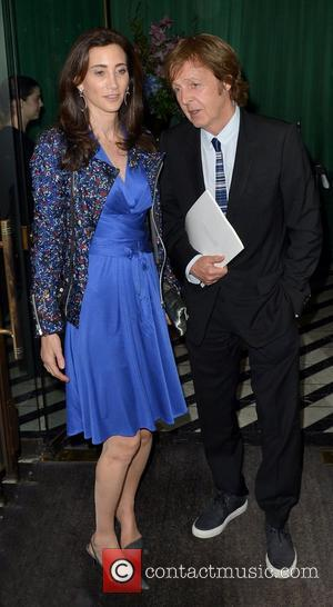 Sir Paul McCartney and Nancy Shevell  leaving Cecconi's restaurant  London, England - 23.05.12