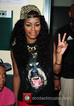 Teyana Taylor backstage  The R You On The List Tour at Bank United Center  Miami, Florida - 03.07.12