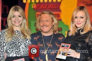 Holly Willoughby, Keith Lemon and Fearne Cotton