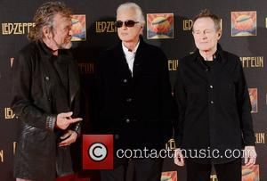 Robert Plant, Jimmy Page, John Paul Jones and Led Zeppelin