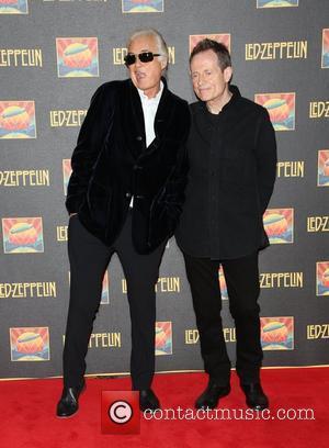 Jimmy Page and John Paul Jones
