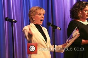 Florence Henderson and Lainie Kazan Celebrities read passages from other stars' autobiographies at The Grammy Museum Los Angeles, California -...