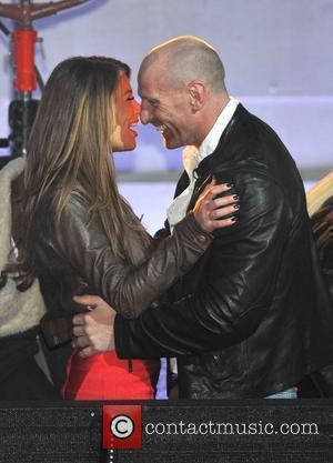 Gareth Thomas, Natasha Giggs Celebrity Big Brother Live Final held at Elstree Studios. London, England - 27.01.12