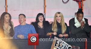 Kirk Norcross, Georgia Salpa, Natalie Cassidy, Nicola Mclean and Elstree Studio