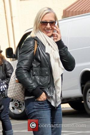 Martina Navratilova Contestants on 'Dancing with the Stars' arrive at a dance studio to rehearse Los Angeles, California - 28.02.12