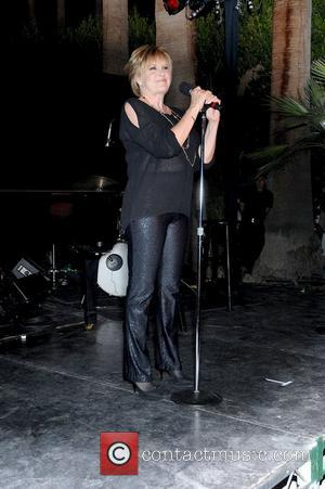 Lorna Luft performing at the Third Annual Celebrity Doodles: Suzanne Somers Will Light The Desert Sky held at historic the...