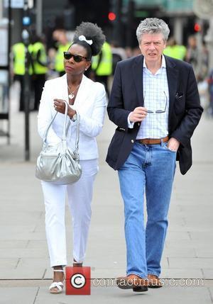 Baroness Floella Benjamin and husband Keith Taylor International Widows Day - Celebrity Goat Walk Celebrities lead herd of goats over...