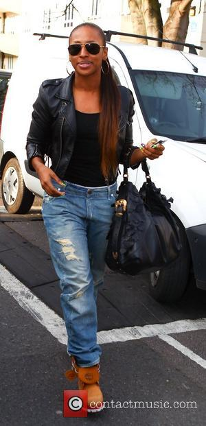 Alexandra Burke Celebrities arrive at the Riverside studios to film 'Celebrity Juice' London, England - 14.03.12