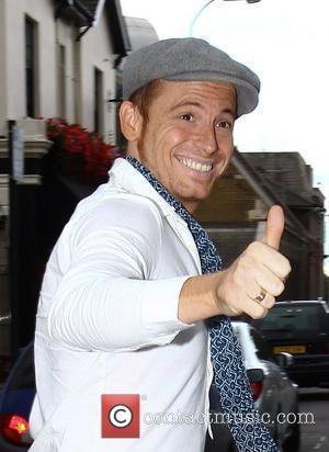 Joe Swash arrives at the Riverside studios to film 'Celebrity Juice' London, England - 12.09.12