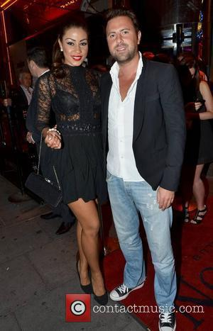 Layla Flaherty & boyfriend James Simpson,  arrive at the launch of TV3's new series of 'Celebrity Salon' at Dandelion...