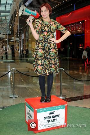 Pearl Lowe and Westfield Shopping Centre