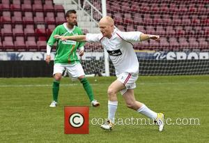 Jake Wood Celebrity Soccer Six match, held at West Ham Football Club grounds in Upton Park London, England - 20.05.12