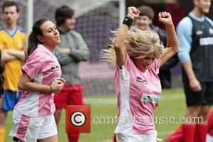 Sam Fox Celebrity Soccer Six match, held at West Ham Football Club grounds in Upton Park London, England - 20.05.12