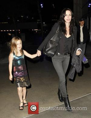 Courteney Cox and Staples Center