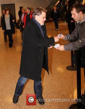 Eddie Izzard Celebrities arrive at Salt Lake City International Airport for The Sundance Film Festival 2012 Salt Lake City, Utah...