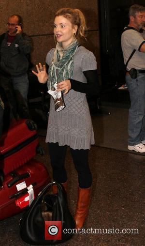 Izabella Miko Celebrities arrive at Salt Lake City International Airport for The Sundance Film Festival 2012 Salt Lake City, Utah...