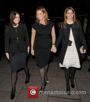 Princess Eugenie, Sarah Ferguson and Princess Beatrice