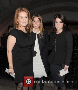 Sarah Ferguson, Princess Beatrice and Princess Eugenie
