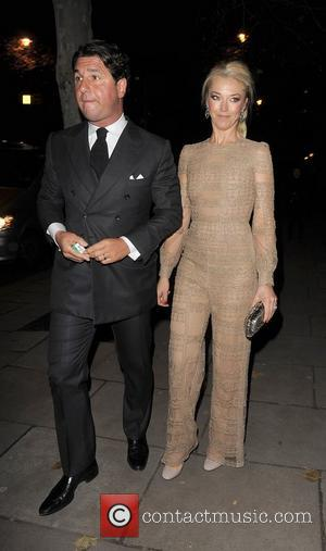 Tamara Beckwith. Valentino: Master of Couture - Private View - Departures. London, England - 28.11.12