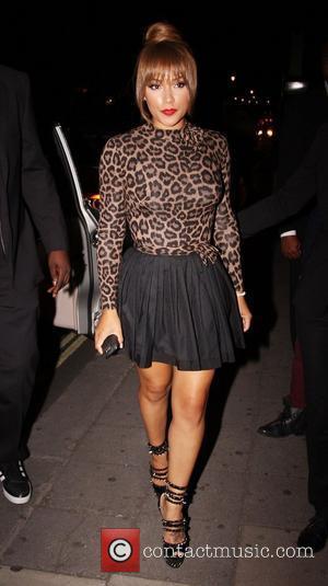 Shantel Jackson leaving Aura Mayfair nightclub after attending Shantel Jackson's birthday party London, England - 25.07.12